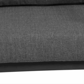 Aluminium Lounge Sessel Siena Garden Belia anthrazit/grau Bild 5