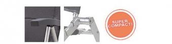 Campingstuhl / Klappstuhl Westfield Be-Smart Cross Compact grau Bild 6