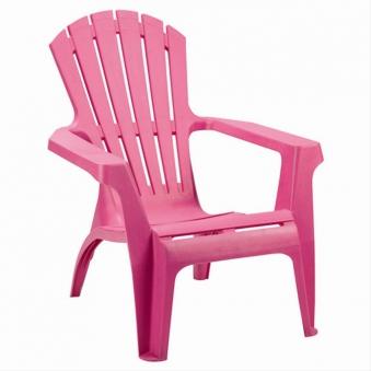 Gartensessel / Deckchair Dolomiti stapelbar pink Kunststoff Bild 1