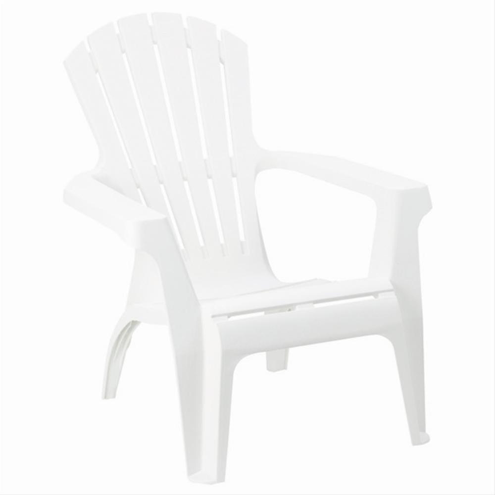 Gartensessel / Deckchair Dolomiti stapelbar weiß Kunststoff Bild 1