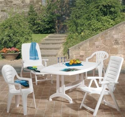gartensessel jardin klappbar aruba blau kunststoff bei. Black Bedroom Furniture Sets. Home Design Ideas