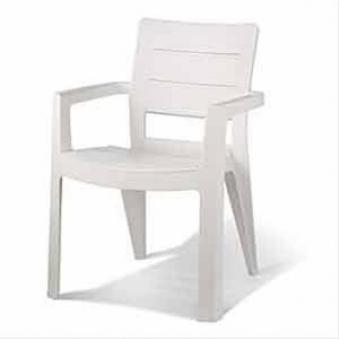 gartenstuhl gartensessel ibiza stapelbar kunststoff wei. Black Bedroom Furniture Sets. Home Design Ideas