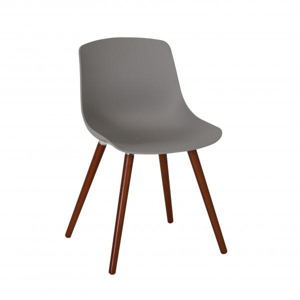 Gartenstuhl / Stuhl Greemotion Halifax Kunststoff grau Bild 1