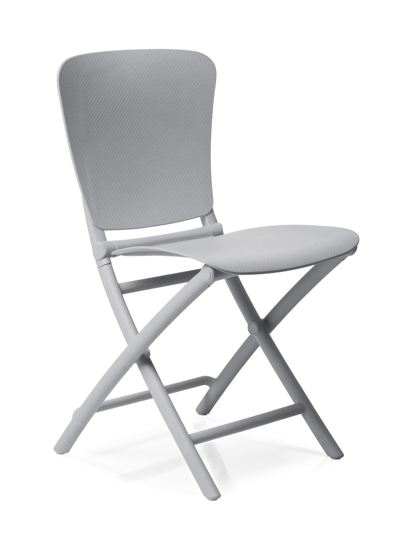 klappstuhl gartenstuhl zac classic kunststoff klappbar grigio bei. Black Bedroom Furniture Sets. Home Design Ideas