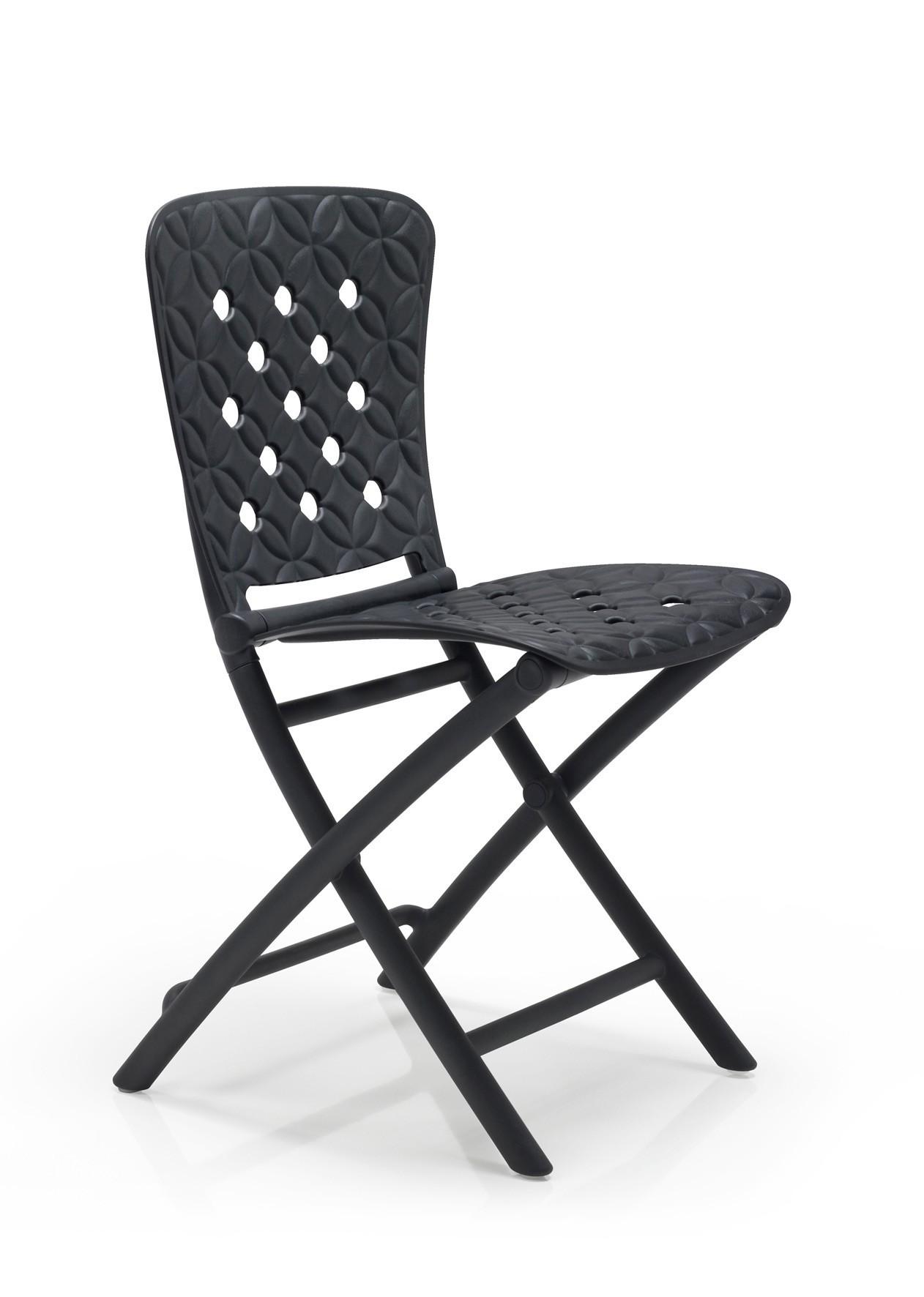 klappstuhl gartenstuhl zac spring kunststoff klappbar anthrazit bei. Black Bedroom Furniture Sets. Home Design Ideas
