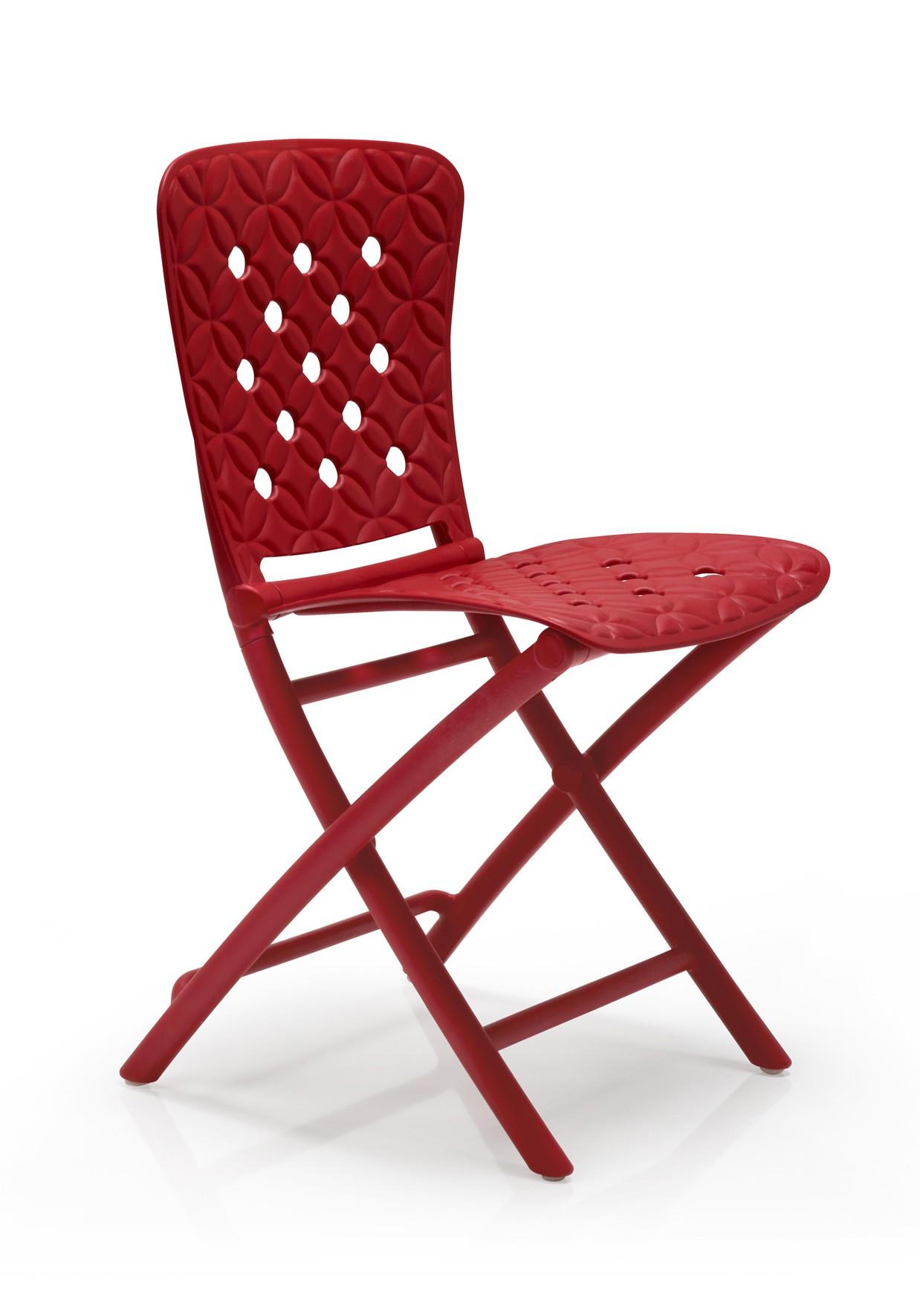 klappstuhl gartenstuhl zac spring kunststoff klappbar rot bei. Black Bedroom Furniture Sets. Home Design Ideas