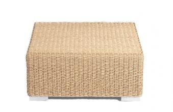 Lounge Möbel Hocker für Korbmöbel Residence Hyazinthoptik Bild 1