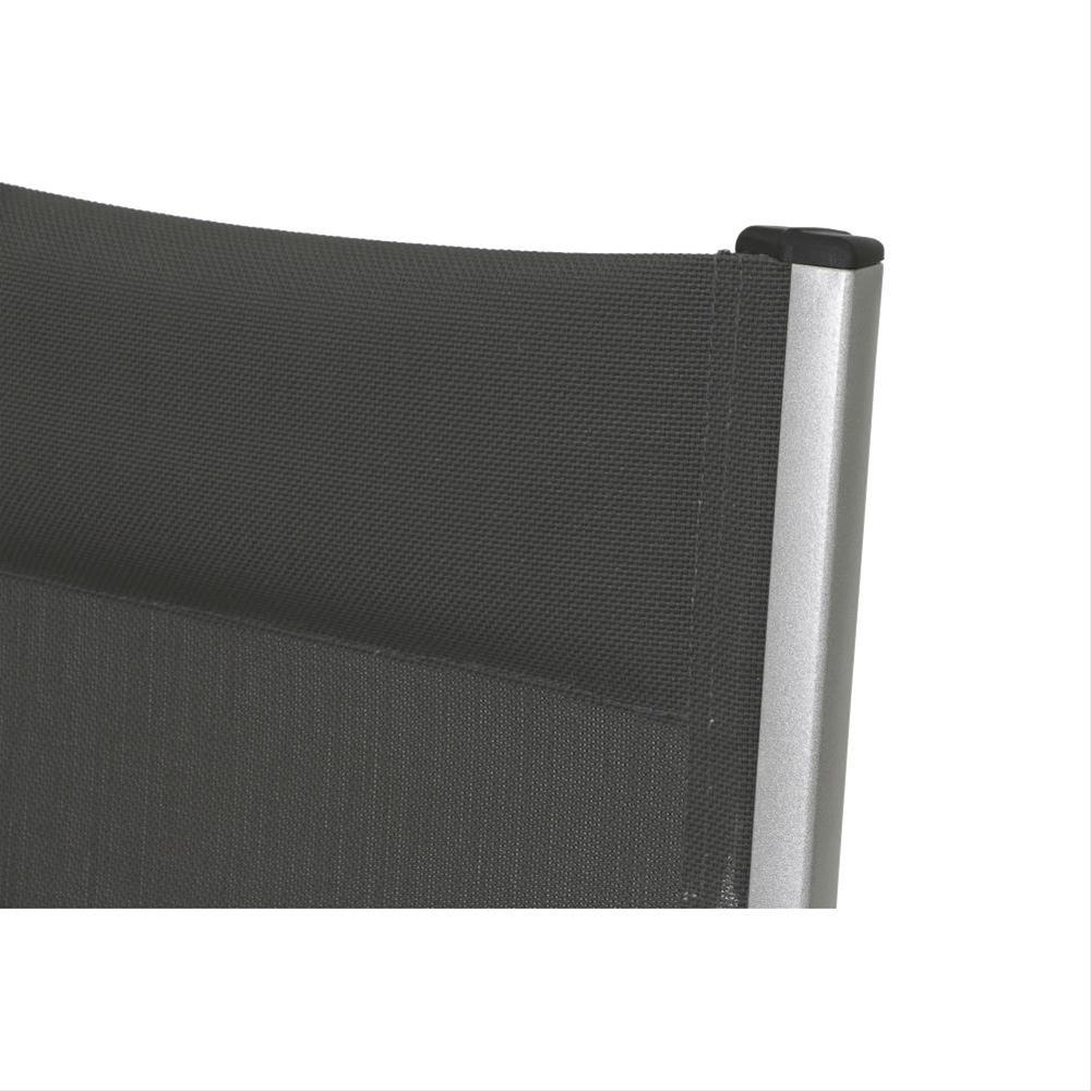 MWH Gartensessel / Klappsessel Core Alu silber/ grau Bild 2