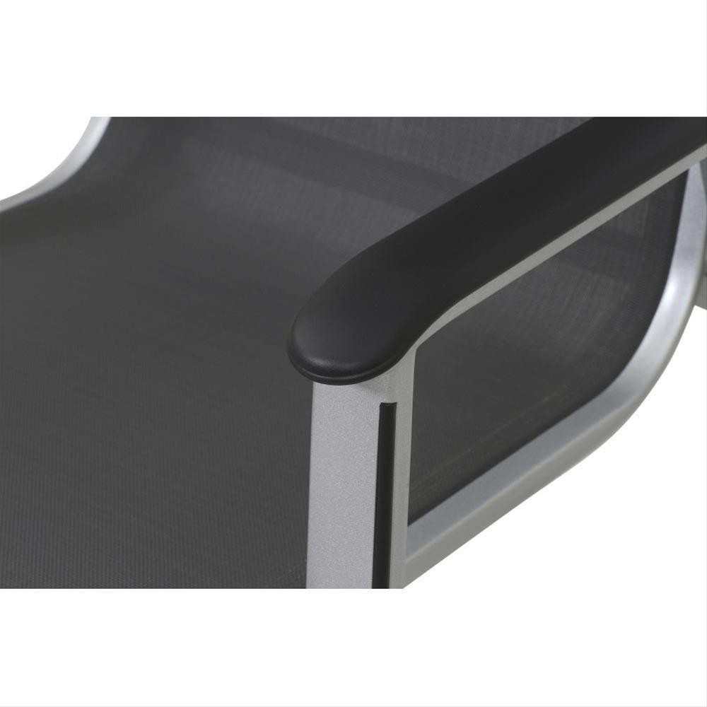 MWH Gartensessel / Stapelsessel Core Alu silber / grau Bild 4