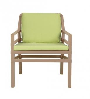 Nardi Gartensessel / Lounge Sessel Aria Kunststoff avana / lime Bild 1