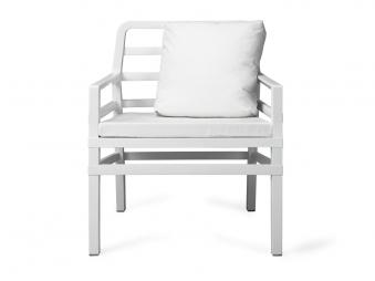 Nardi Gartensessel / Lounge Sessel Aria Kunststoff bianco / bianco Bild 1