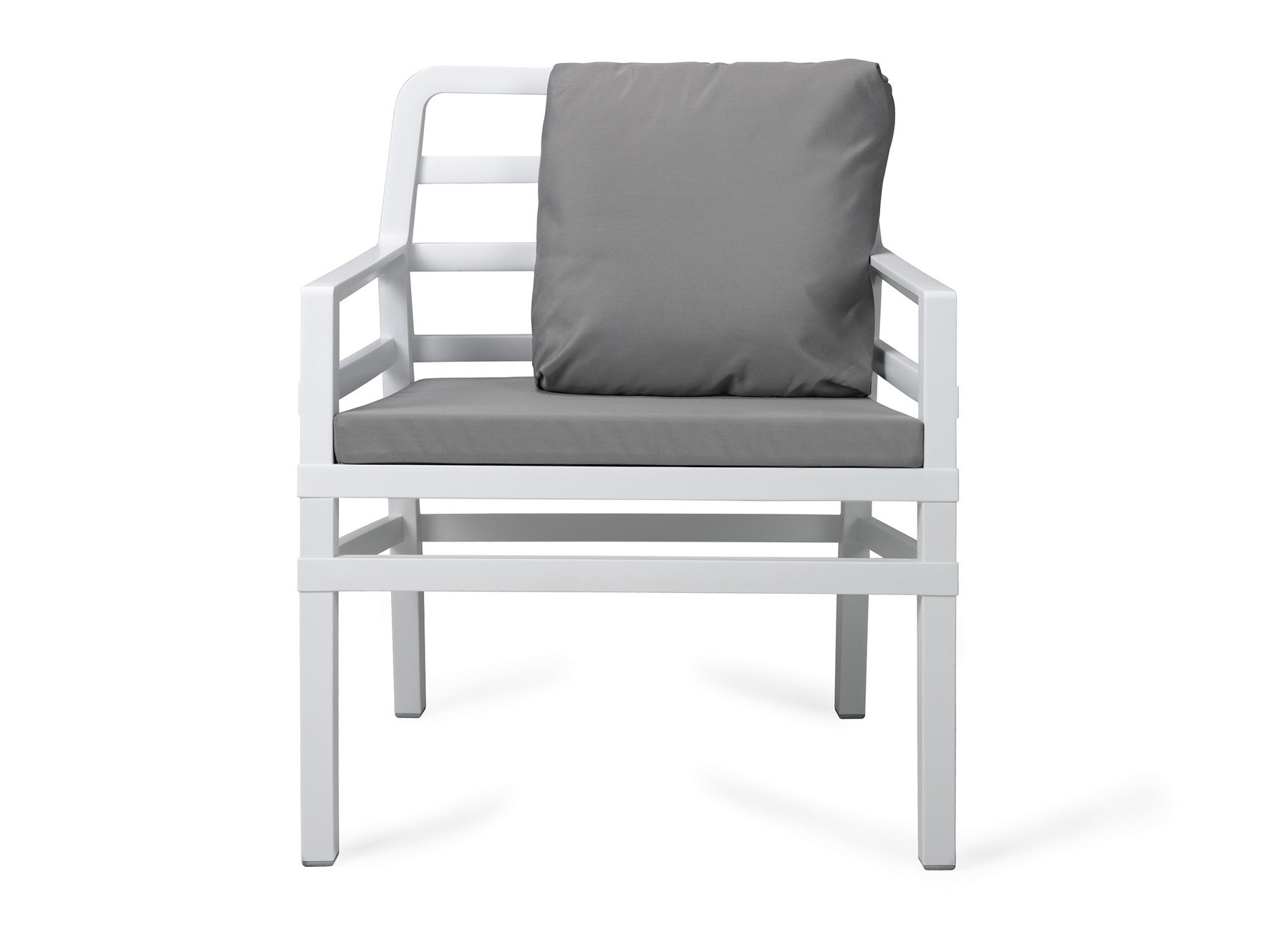 Nardi Gartensessel / Lounge Sessel Aria Kunststoff bianco / grigio Bild 1