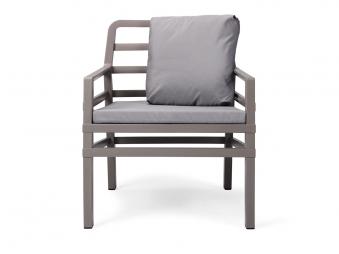 Nardi Gartensessel / Lounge Sessel Aria Kunststoff tortora / grigio Bild 1