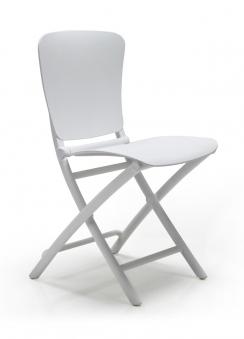 Nardi Klappstuhl / Gartenstuhl Zac Classic Kunststoff bianco Bild 1