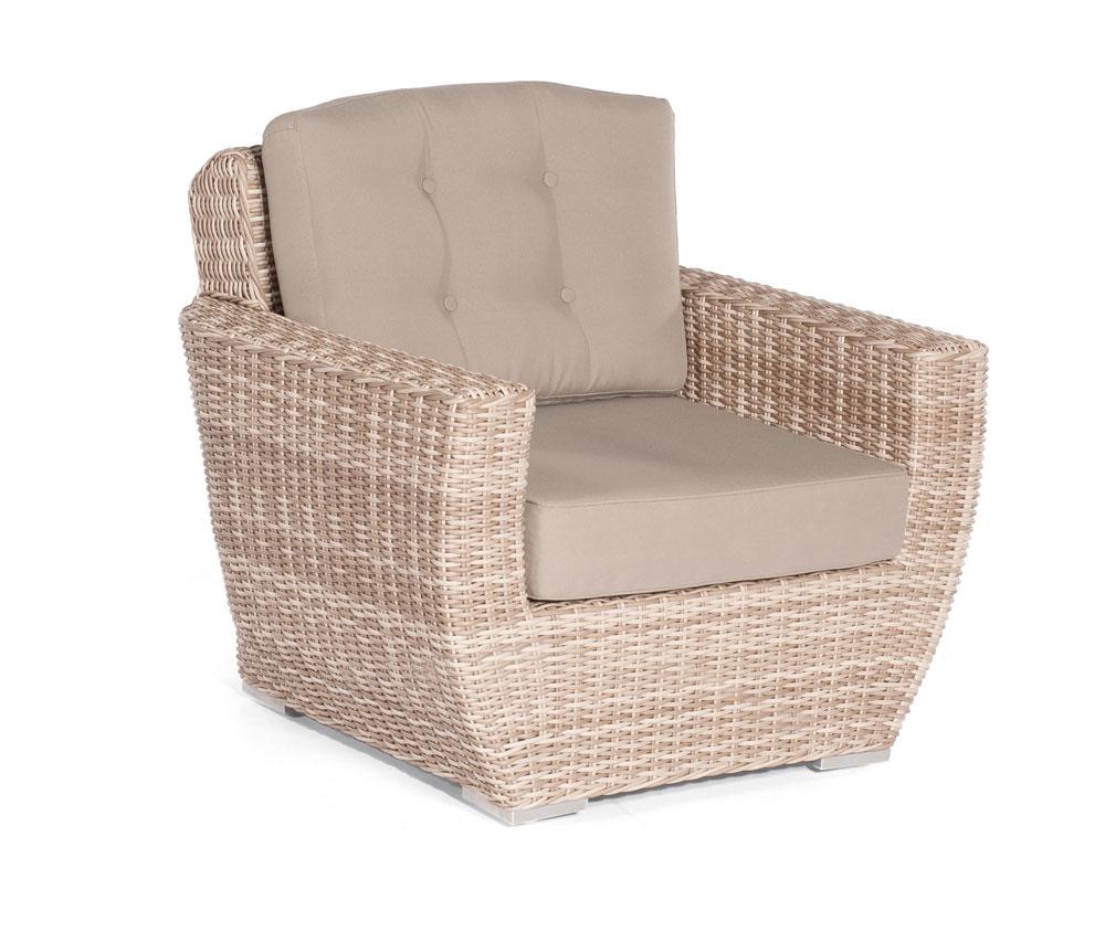 sonnenpartner loungesessel korbm bel wetterfest royal. Black Bedroom Furniture Sets. Home Design Ideas