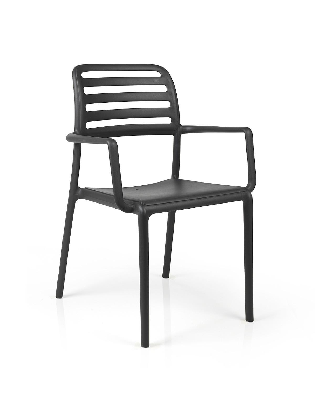 stapelstuhl gartenstuhl costa kunststoff stapelbar. Black Bedroom Furniture Sets. Home Design Ideas