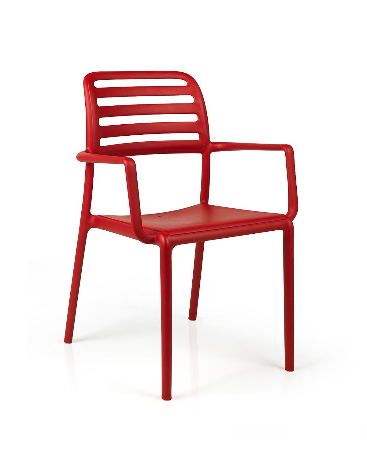 Kunststoff Stühle Stapelbar : stapelstuhl gartenstuhl costa kunststoff stapelbar rot bei ~ Indierocktalk.com Haus und Dekorationen