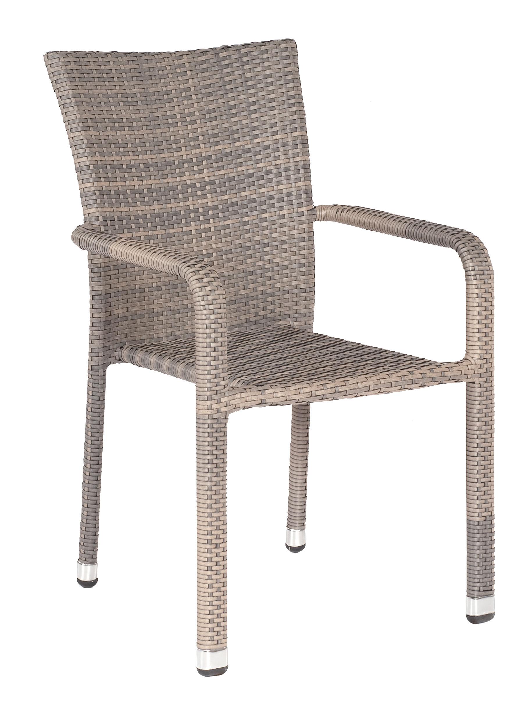 sunny smart korbsessel stapelbar korbm bel wetterf. Black Bedroom Furniture Sets. Home Design Ideas