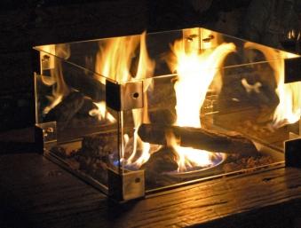 Clifton outdoor fires Glasaufsatz für Terrassenfeuer Inclusive / Large Bild 2