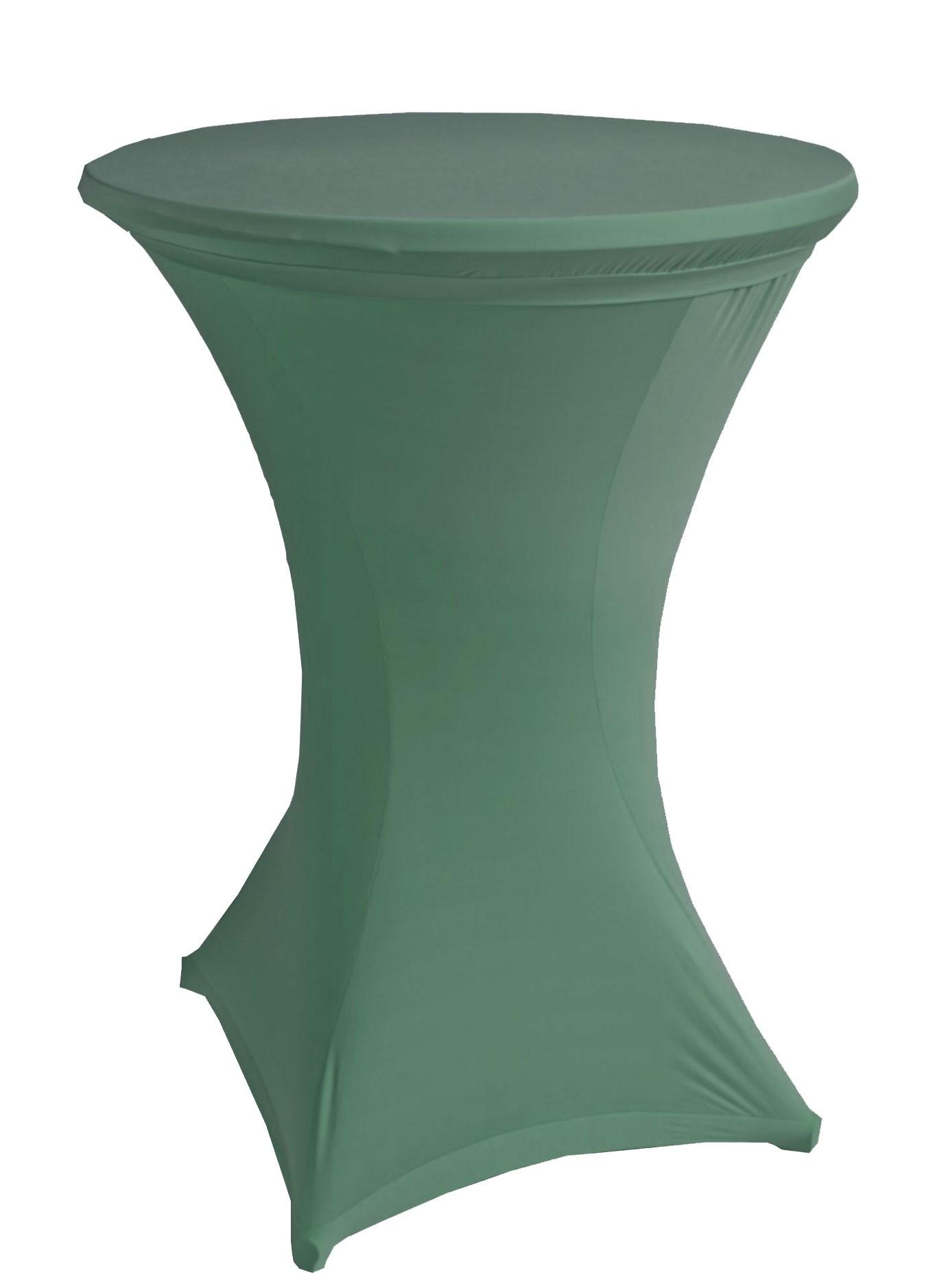 Stehtischhussen beo Ø90cm Stretch dunkel grün PY00 9 Bild 1