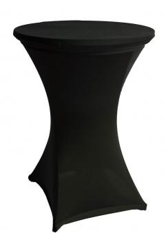 Stehtischhussen beo Ø90cm Stretch schwarz PY011 Bild 1