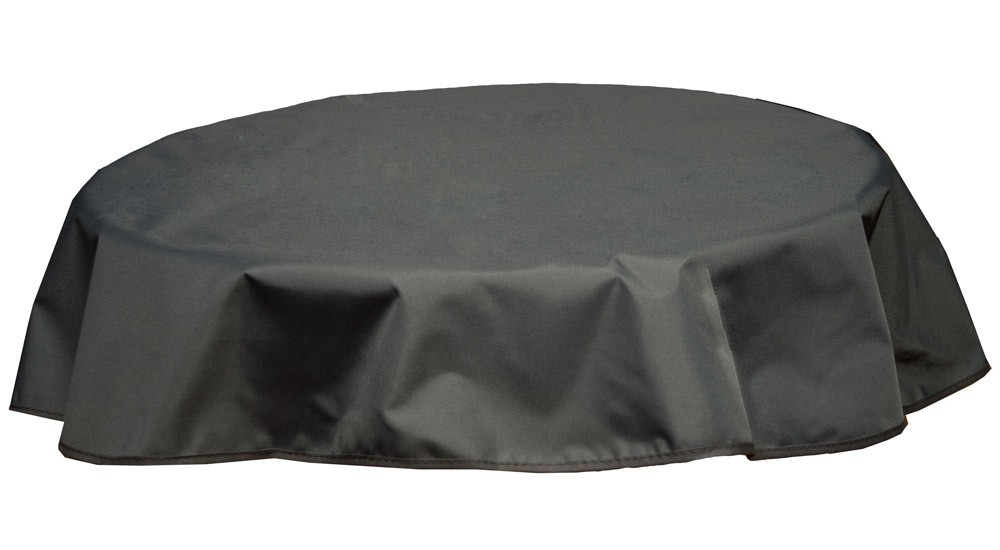 Tischdecke Beo Polyester wasserabweisend Ø160cm Des. PY304 anthrazit Bild 1
