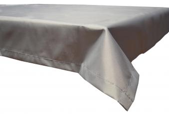 Tischdecke Beo Polyester wasserabweisend 140x110cm Des. PY301 hellgrau Bild 1