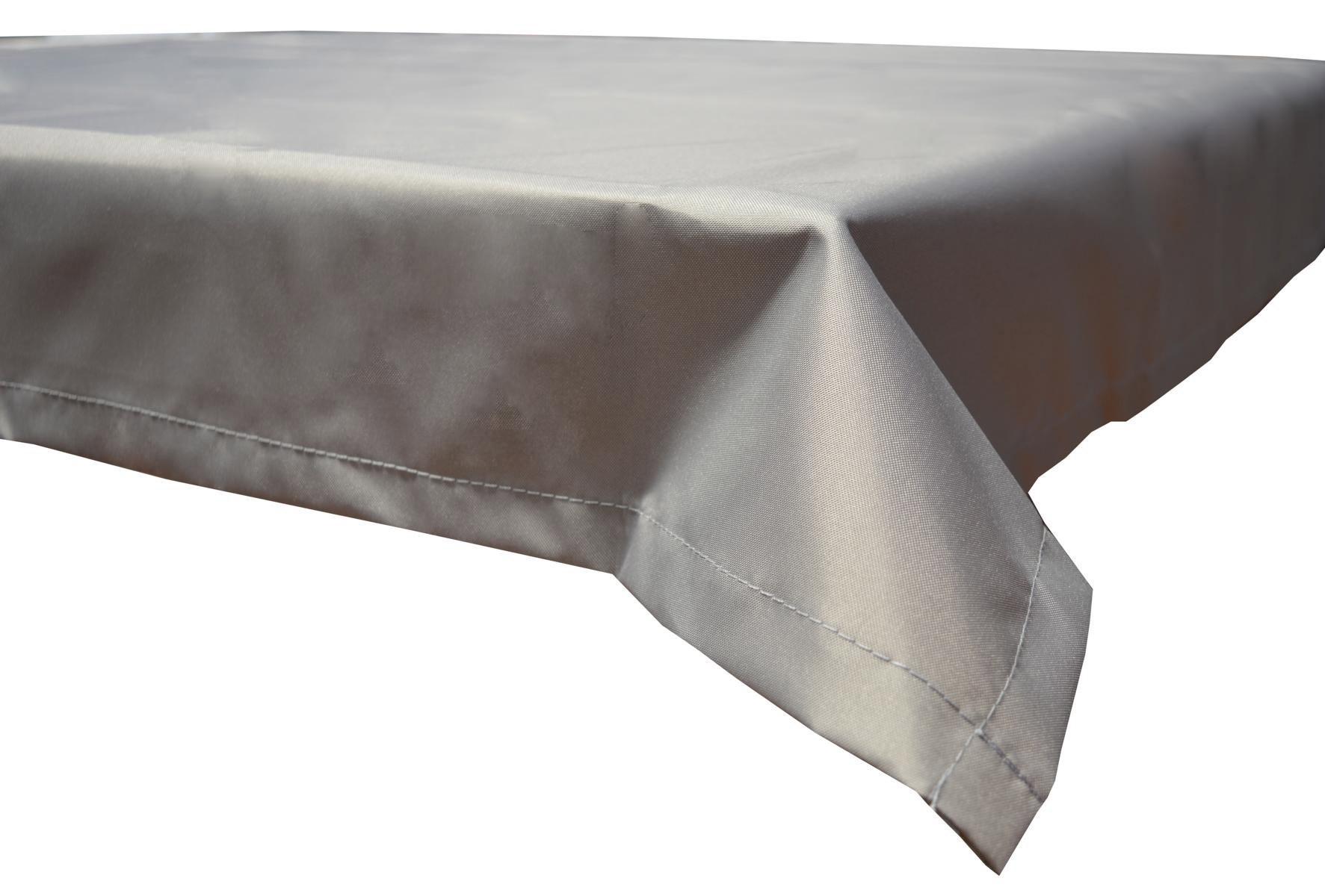 Tischdecke Beo Polyester wasserabweisend 76x76cm Dessin PY301 hellgrau Bild 1