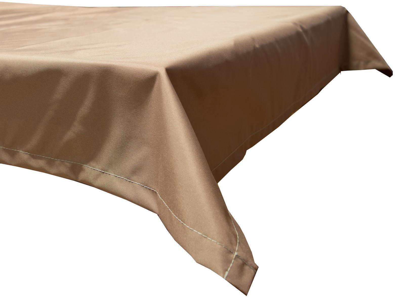 Tischdecke Beo Polyester wasserabweisend 76x76cm Dessin PY303 sand Bild 1
