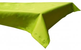 Tischdecke Beo Polyester wasserabweisend 76x76cm Dessin PY306 hellgrün Bild 1