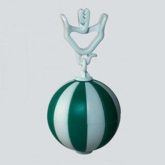 Tischdeckenbeschwerer Kugel grün-weiß Bild 1