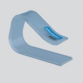 Tischtuchklammer Plexiglas klein / bis 27mm Bild 1