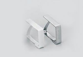 Tischtuchklammern mit Blattfeder weiß 4 Stück Bild 1
