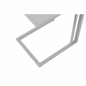 Beistelltisch / Gartentisch Siena Garden Ramo Alu weißgrau 36x43cm Bild 5