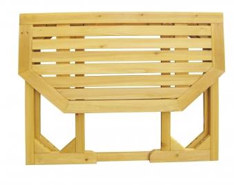 Gartentisch / Balkontisch Habau klappbar Kiefer 90x50cm Bild 2