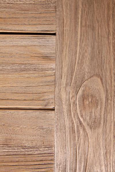 Gartentisch Beistelltisch Sideboard Moretti Best 100x42 Teak greywash Bild 2