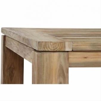 Gartentisch / Esstisch Siena Garden Rondo Teak natur 90x90cm Bild 4