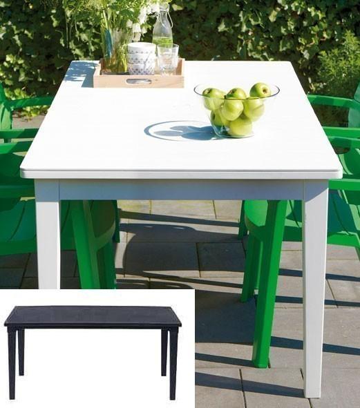 Gartentisch Futura Kunststoff 165x95cm grau Bild 1
