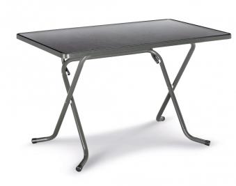 Gartentisch / Klapptisch Primo Best 110x70cm Stahl anthrazit Bild 1
