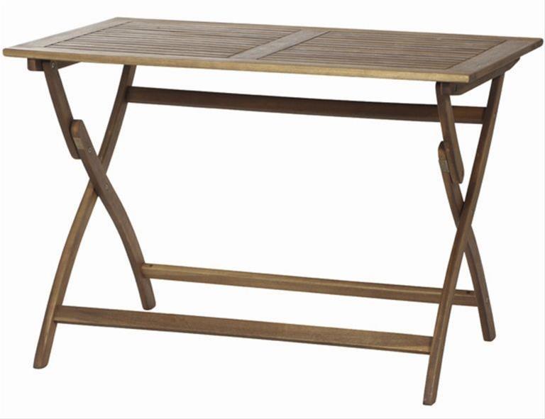 Gartentisch / Klapptisch Siena Garden Akazie geölt 110x70cm Bild 1