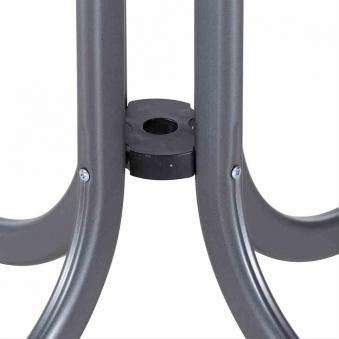 Gartentisch / Klapptisch Siena Garden Slim Stahl anthrazit 80x80cm Bild 2