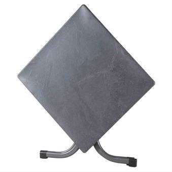 Gartentisch / Klapptisch Siena Garden Slim Stahl anthrazit 80x80cm Bild 5