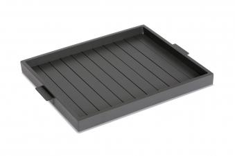 Tablett / Seviertablett Livorno Best 55x66cm Durable Top anthrazit