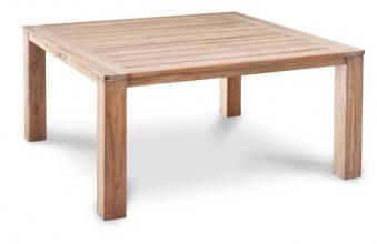 Gartentisch Moretti Best 160x160cm Teak grey wash Bild 1
