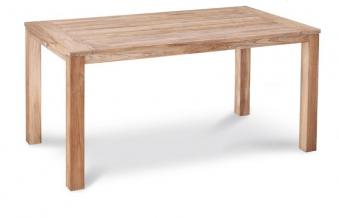 Gartentisch Moretti Best 160x90cm Teak grey wash Bild 1