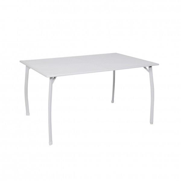 Gartentisch / Tisch Greemotion Toulouse Streckmetall 140x90cm weiß Bild 1