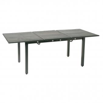 gartentisch toulouse 140 200x90x72cm streckmetall ausziehbar eisengrau bei. Black Bedroom Furniture Sets. Home Design Ideas