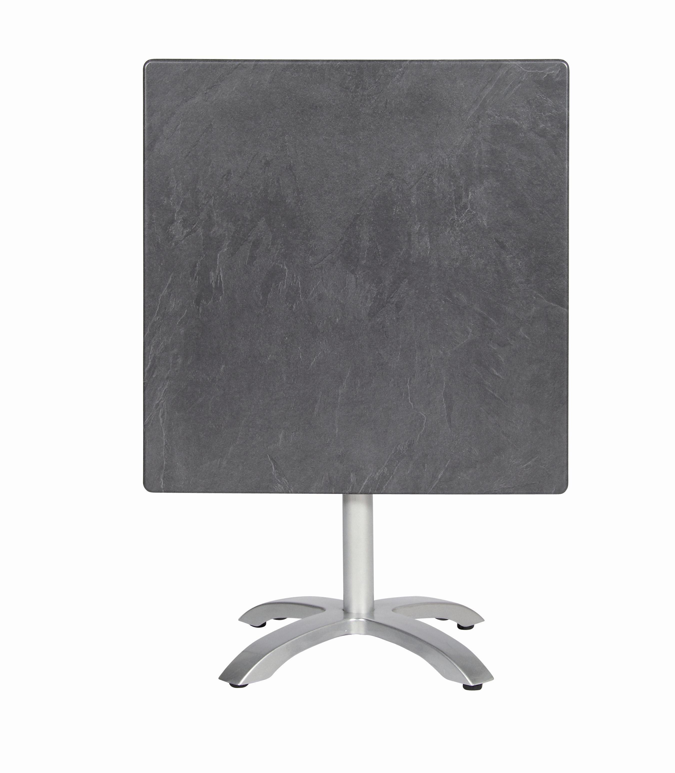 Gartentisch acamp acaplan 80x80cm klappbar Alu platin / schiefer Bild 3