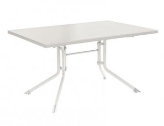 kettler gartentisch 0307020 5000 klappbar kettalux 140x95cm wei bei. Black Bedroom Furniture Sets. Home Design Ideas