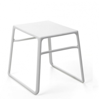Nardi Gartenhocker Beistelltisch Tavolino Pop stapelbar 44x39,5 bianco Bild 1